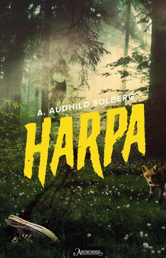"""er du spennende og mystiske bøker? Der handlingen foregår i en mørk, creepy skog, med vesener hentet rett ut av et mareritt? Da vil du like """"Harpa""""!"""